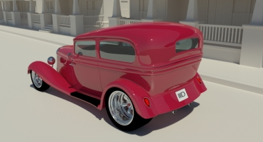 iray hot rod